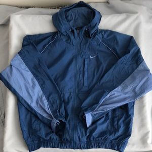 Vintage Nike Swoosh 90's Windbreaker Jacket